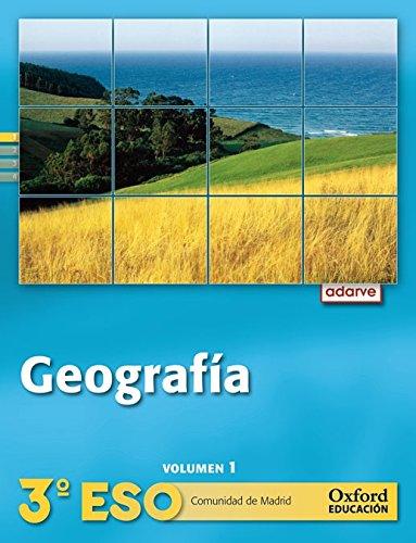 Geografía 3º ESO Adarve Trimestral (Comunidad de Madrid): Libro del Alumno - 9788467363470