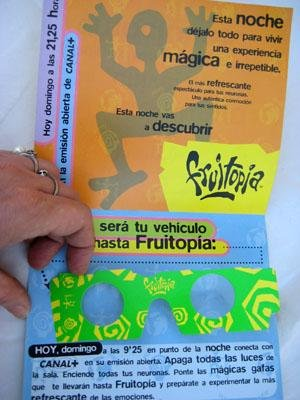 Publicidad - Advertising : FRUITOPIA. Mágicas gafas.