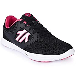 Campus Black Running Shoes