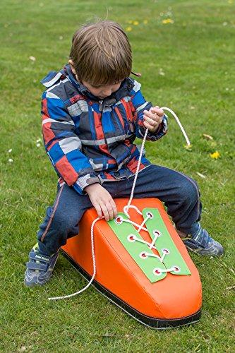 Lernschuh Spielschuh für Kinder - Binde den Schuh lernen - gefertigt aus weichem Schaumstoffmaterial absolut kinderfreundlich
