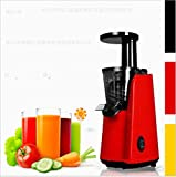 600ml Hause masticating Entsafter, 150W, Rot