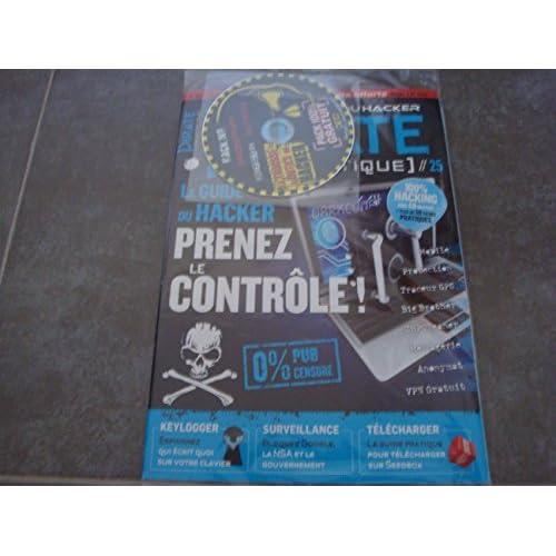 LES CAHIERS DU HACKER PIRATE N°25 + 2 MAGAZINES COMPLETS OFFERTS SUR LE CD