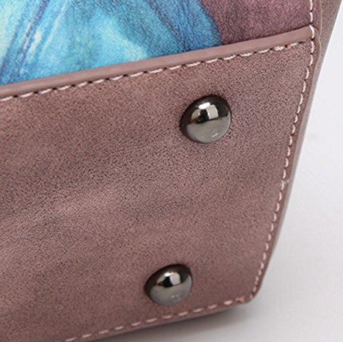 Borsa A Tracolla Portatile Borsa A Tracolla Wild Messenger Messenger Bags Personality Bags Atmosphere Borsa A Tracolla Portatile Semplice DarkBlue