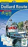 Radwanderkarte BVA Internationale Dollard Route 1:50.000, reiß- und wetterfest, GPS-Tracks Download: Grenzlos Radwandern in Deutschland und den Niederlanden (Radwanderkarte 1:50.000) -