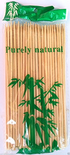 "BAMBOO LONG COCK TAIL PARTY STICK ""10"" 200 STICKS"