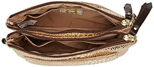 Bensimon - Mini Bag, Borse a tracolla Donna Oro (Serpent Or)