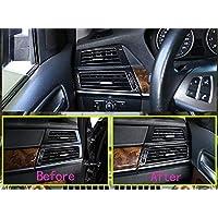 Tianrui Crown Car Accessories Carbon Fiber Style For BM X5 X6 E70 E71 2008-2013 ABS Car Interior Decoration Strip Frame Cover Trim Sticker (5)