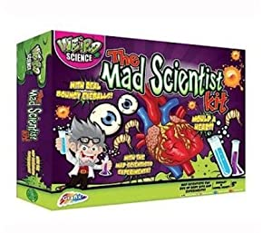 Grafix Junior Science The Mad Scientist Kit (el Embalaje Puede Variar)