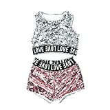 7a0d93ca5dc3 unbrand Costumi per Bambini Costumi per Cappotti di Paillettes per  Abbigliamento da Baseball di Hip-