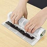 Takestop® - Sushi Maker Perfect Roll - Rouleau en plastique facile à nettoyer pour confectionner des maki - Cuisine