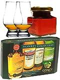 Geschenkset Cooley Colletion mit 2 Glencairn Gläser und 1 Glas Whisky Marmelade 150 Gramm