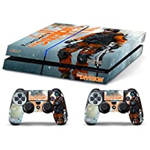 Skin PS4 HD TOM CLANCY'S THE DIVISION b - limited edition DECAL COVER ADHESIVO playstation 4 SONY BUNDLE