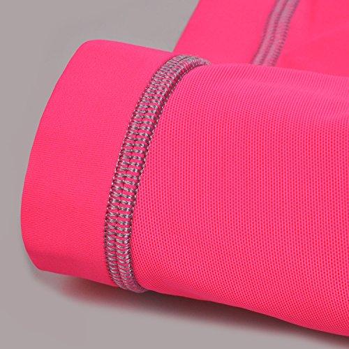 SYROKAN Damen Sport BH Ultimate Run - mit Einlagen,Vollschalen,ohne Bügel Rosa