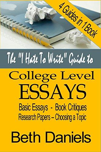 college essay critique