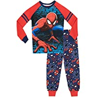 Spiderman Boys Spider-Man Pyjamas Snuggle Fit