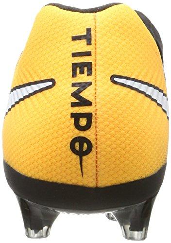 Nike Tiempo Legacy Iii Ag-Pro, Chaussures de Football Homme Noir (Black/white-laser Orange-volt)