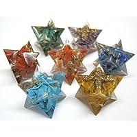 Beautiful Sieben Chakra Energetische Edelsteine Merkaba Sterne Crystal Healing Feng Shui positive Energie Reiki... preisvergleich bei billige-tabletten.eu