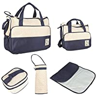 Other 5-In-1 Multi-Function Changing Baby Bag - Gh8687, Dark Blue