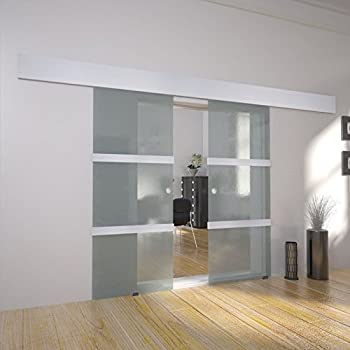 Modern Interior Double Glass Sliding Door System Amazon