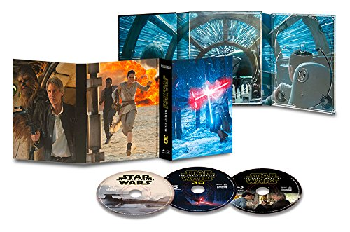Star Wars: The Force Awakens Collectors Edition [Blu-ray 3D] [Region Free]