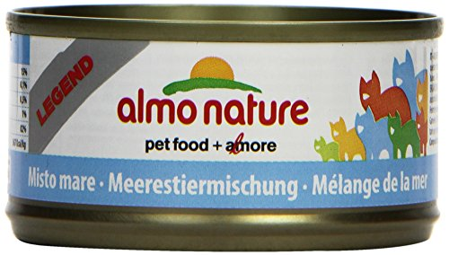 Almo Nature Legend Katzenfutter Meerestieremischung 24 x 70 g