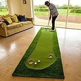 Profi-Golf Putting Matten - Praxis & Verbessern, Putt Striche, Putting Matte Golfübungsgeräte [Net World Sports]