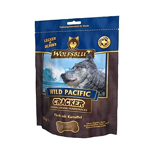4 x 225g Wolfsblut Cracker Wild Pacific mit Fisch