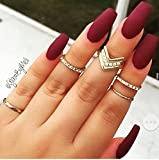 #4: Spero New 2018 vov Matte makeup Long-lasting Maroon Nail color With Very Beautiful Attractive colour with Free shipping