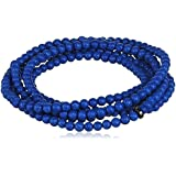 Pilgrim Damen-Armband Summer bracelets Messing 95 cm - 29152
