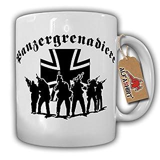 Panzergrenadiere Elite Einheit Militär PzGren Balkenkreuz Soldat Bundeswehr - Tasse Kaffee Becher #16713