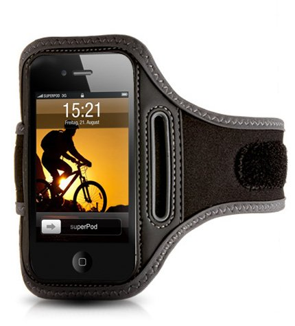 ActionWrap - Sport-Armband Tasche für Apple iPhone 4S / 4, iPhone 3GS & iPod Touch - Iphone 3g-wrap