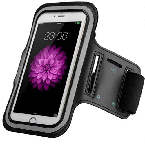 Brassard Housse Pochette de sport pour Apple iPhone 6 / 6S / 7 - utile pour le jogging footing sac de sport bracelet de fitness avec emplacement pour les clés