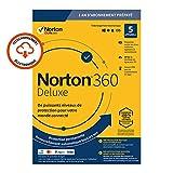 Norton 360 Deluxe 2020 - 5 Appareils - 1 An - Secure VPN et Password Manager - PC/Mac/iOS/Android - Code d'Activation - Envoi par email...