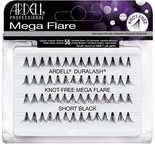 Ardell Mega Flare - Knot-Free - Short Black