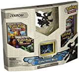 Pokemon Black White Card Game ZEKROM Box 4 Booster Packs, 1 Holo Promo Card 1...