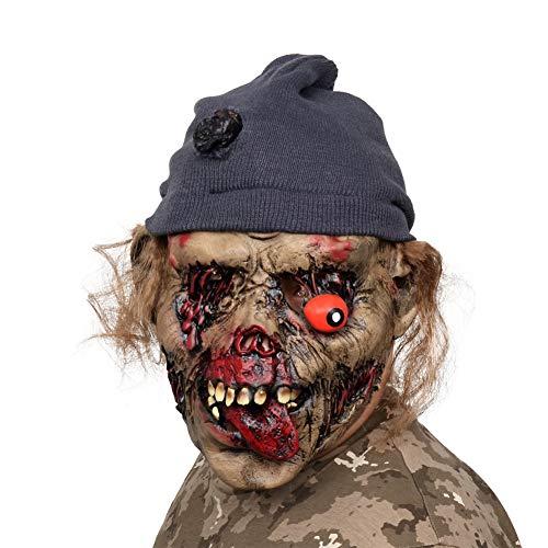 AivaToba Mascaras de Halloween, Las Máscaras de Cabeza de Terror Espeluznante de Látex de la Novedad se Enfrentan Espantosas para la Fiesta de Disfraces de Halloween