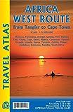 Africa West Route: Tangier - Cape Town via Senegal atlas