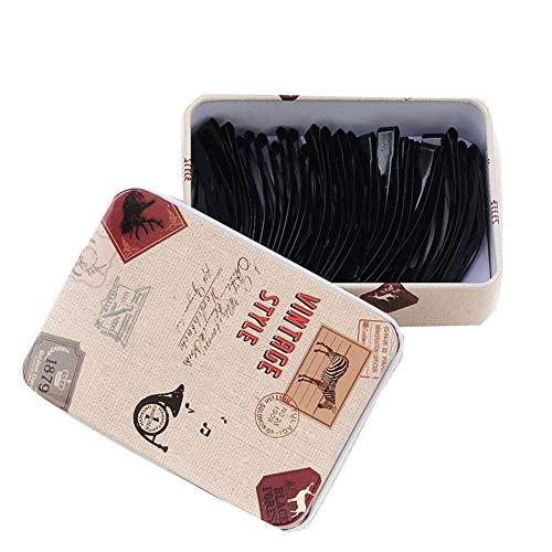 aimaoer Hairpin Basic Nero Clip Di Una Parola Clip A Spirale Liu Clip Da Spiaggia Clip Clip Accessorio Per Capellibb Clip Zebra