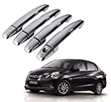 #7: Auto Pearl Chrome Door Handle Latch Cover for Honda Amaze (Set of 4)