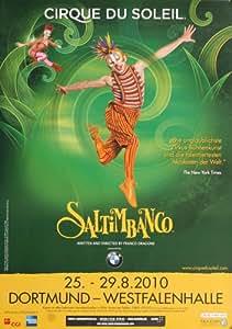 Cirque du Soleil - Saltimbanco 2010 - Concert Poster Plakat