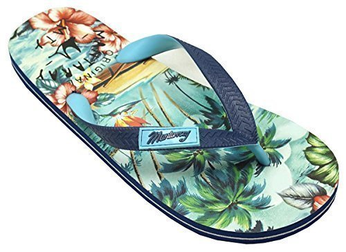 Boys Hawaiian Floral Flip Flops Beach Toe Post Sandals UK Shoe sizes from 13 to 6