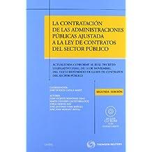 La contratación de las administraciones públicas ajustada a la ley de contratos del sector público - Actualizada conforme al Real Decreto Legislativo ... CD (Práctica Procesos Jurisdicionales)