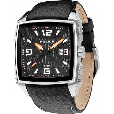 Police Man P-Patrol Unisex Analogue Watch with Black Dial Analogue Display - R1451122002