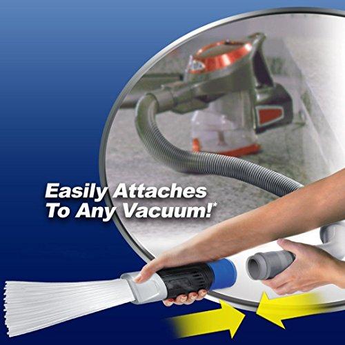 Dust Cepillo para Aspiradora Universal Removedor de Suciedad Herramienta Limpieza de Vacío ( Azul )