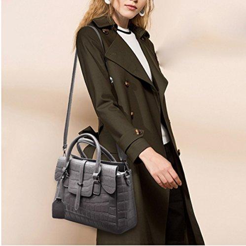 LAIDAYE Mode Frau Tragbares Schulterdiagonalpaket 2