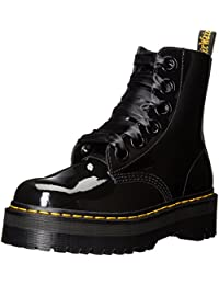 Dr.Martens Molly Black Patent Patent Lamber Black Black Patent Patent Womens Boots Size 5 UK