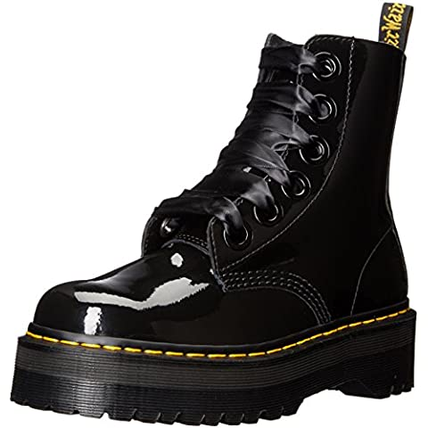 Dr.Martens Molly Patent Lamber Black Patent Womens Boots