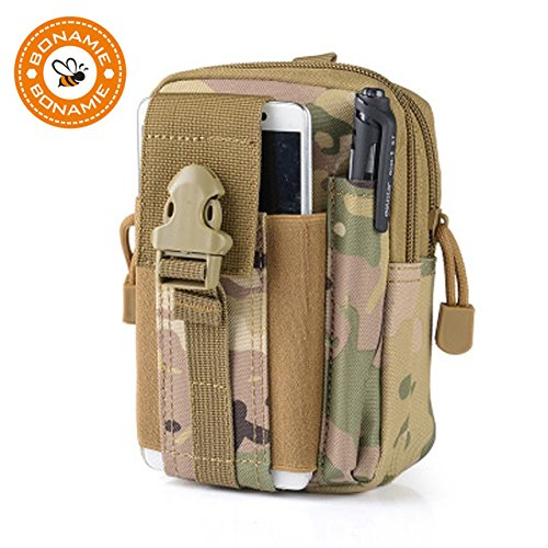Buyworld Bonae 2017 Men Pouch Belt Waist Pack Bag Small Pocket Litary Waist Pack Pouch Travel Bags Soft Back