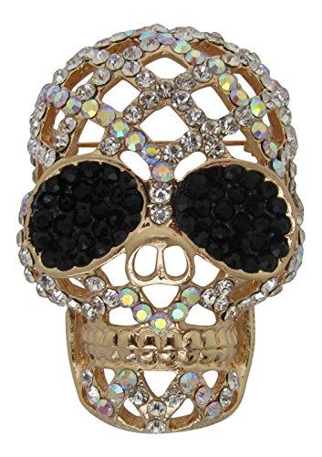 Brooch Boutique - Broche, chapado en oro AB, con cristales, en...
