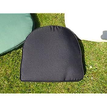 UK-Gardens Black Garden Furniture Chair Cushion Seat Pad ...
